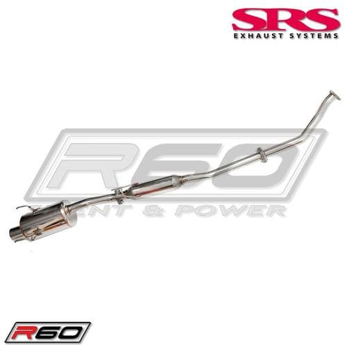 SRS Exhaust Systems R60 Catback System TÜV (HONDA CIVIC EP3 TYPE R)