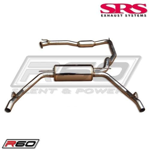 SRS Exhaust Systems R60 Catback System TÜV (Honda Civic FN2 07-12 3dr TYPE R)