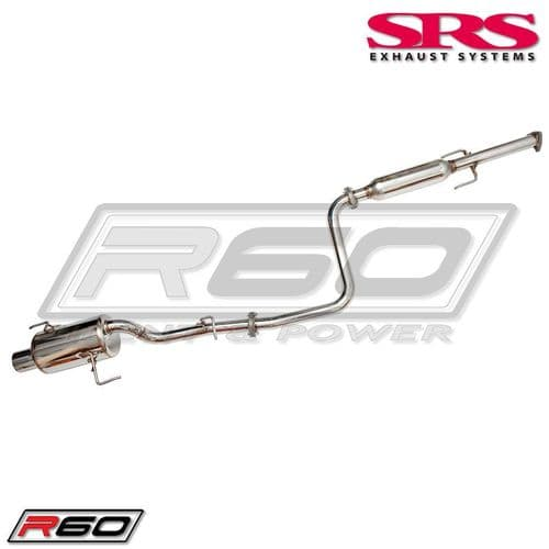 SRS Exhaust Systems R60 Catback System TÜV (Prelude 92-96)