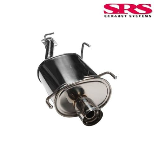 SRS Exhausts Axleback System Stainless Steel G35 (Prelude 92-96)