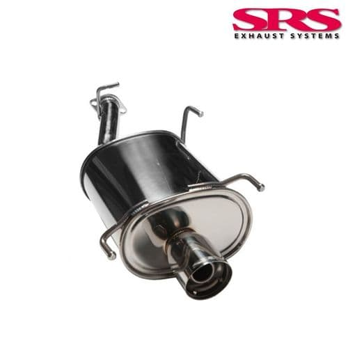 SRS Exhausts Axleback System Stainless Steel G35 (Prelude 97-01)