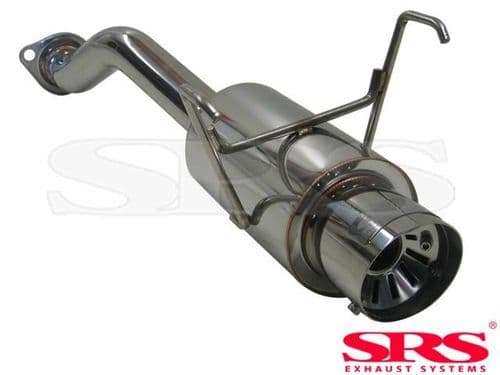 SRS Exhausts Axleback System Stainless Steel G55 (HONDA CIVIC EP3 TYPE R)