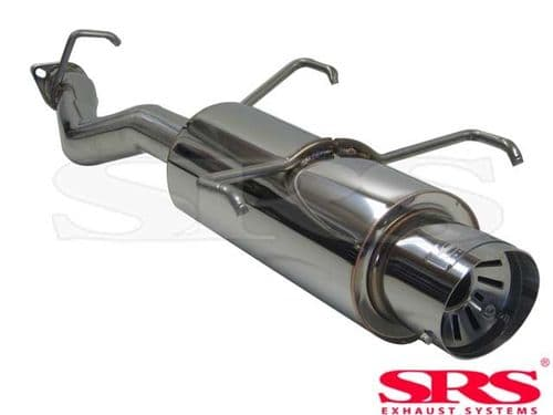 SRS Exhausts Axleback System Stainless Steel G55 (Prelude 92-96)