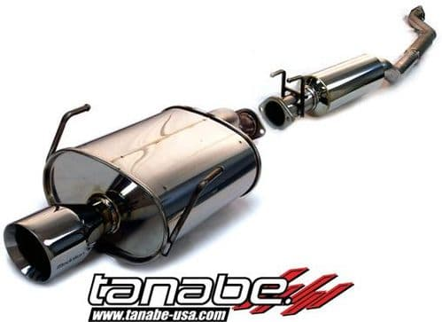 Tanabe Medallion Touring Catback Exhaust 02-05 CIVIC EP3 TYPE R