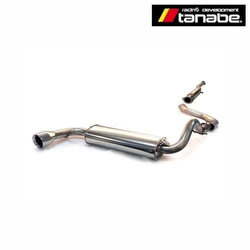 Tanabe Medallion Touring Catback Exhaust 88-91 CRX