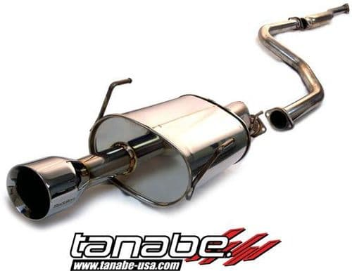 Tanabe Medallion Touring Catback Exhaust 96-00 Civic Coupe Si