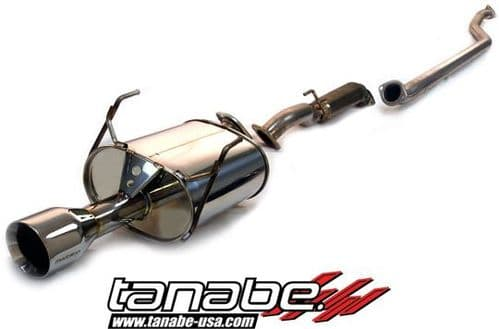 Tanabe Medallion Touring Catback Exhaust (Requires T43EAZ) 01-05 Civic Coupe DX/LX