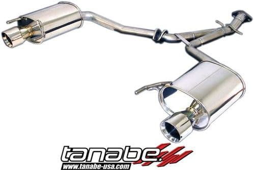 Tanabe Medallion Touring Dual Muffler Rear Section Exhaust 06-07 IS250 2WD / AWD