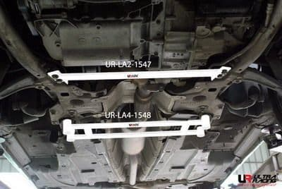 ULTRA RACING 2-Point Front Lower Tiebar  Peugeot 407 04-10 2.0