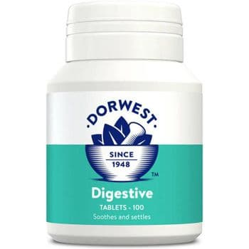 Dorwest - Digestive Tablets For Dogs And Cats - 100