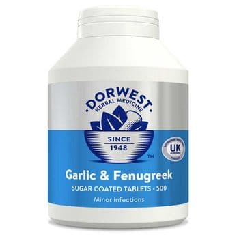 Dorwest - Garlic & Fenugreek Tablets - 100