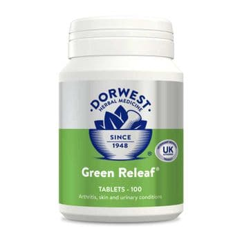 Dorwest - Green Releaf Tablets for Dogs & Cats - 100 Pack