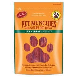 Pet Munchies - Duck Breast Fillets - 80g