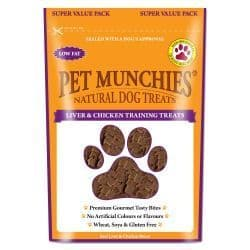 Pet Munchies - Natural Liver & Chicken Training Treat - 150g