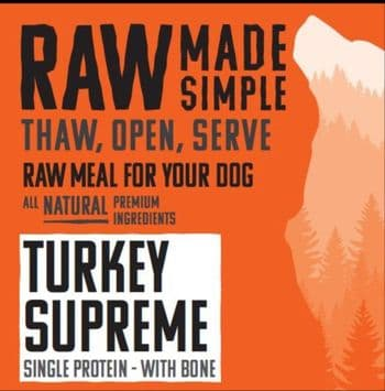 RMS - Turkey Supreme Mince with Bone, Heart and Liver 500g