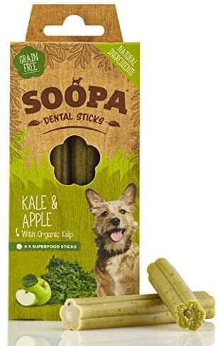 Soopa - Kale & Apple Dental Sticks