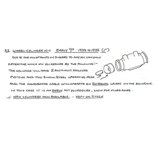 (032) Early Wheel Cylinder