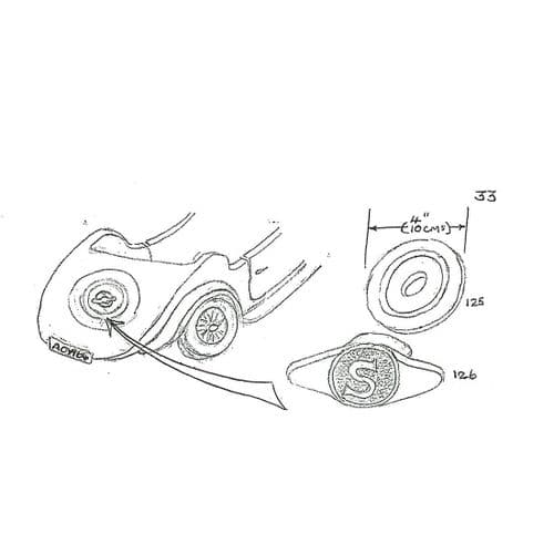 (125) Dished Washer