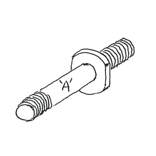 (182) Shock Absorber Pin A