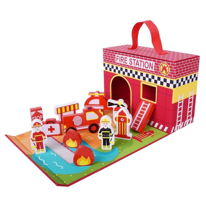 Fire Fighter Foldaway Play Set