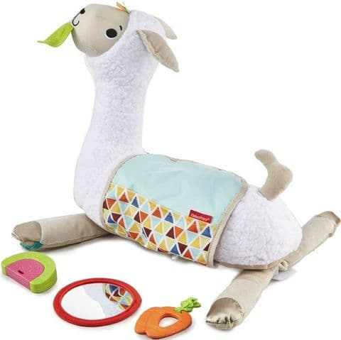 Grow With Me Tummy Time Llama - Fisher Price