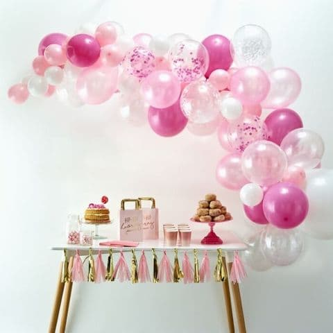 Pink Baby Girl Baby Shower In a Box, Baby Shower Decorations and Games