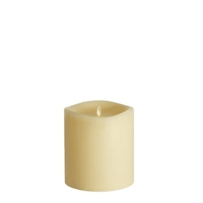 Ivory Giant 17cm x 16cm Candle