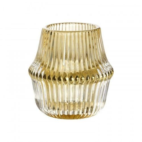 Pago Gold Tealight Holders (Set of 3)