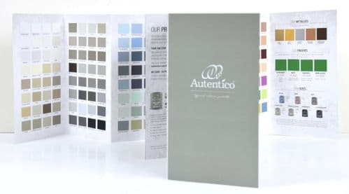 Autentico Fold-Out Colour Chart with Swatches