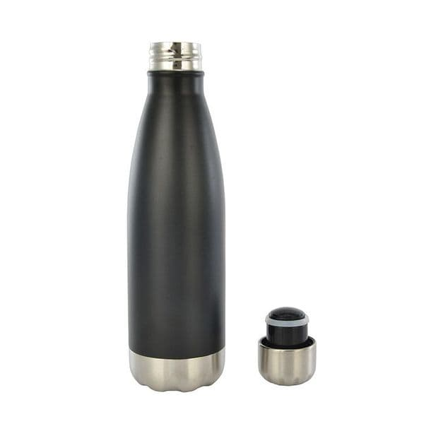 Stainless Steel Water Bottle 350/500/600/750ml, Double Walled Vacuum Insulated