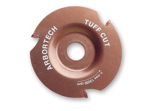 """Arbortech TUFF Cut Universal Cutting Blade Wood 4 1/2"""" 5"""" 115mm 125mm Angle Grinders Pipe"""