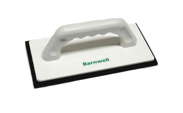 Barnwell Sponge Float Dense Rubber Black 9 1/2