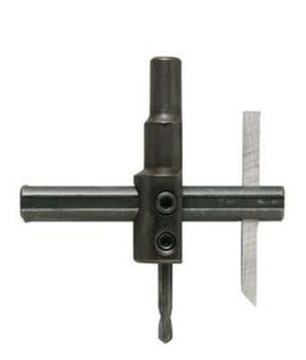 General Tools No.4 Adjustable Standard Circle Hole Cutter 22mm - 100mm