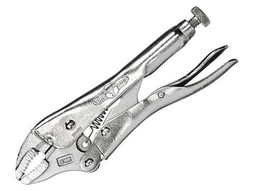 "Irwin Vise-Grip 5WR Curved Jaw Locking Mole Grip Pliers Wire Cutter 125mm 5"" 5WRC T0902EL4"