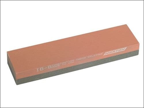 Norton India IB8 Bench Oil Sharpening Stone 204mm 50mm 25mm Combination for Chisels NO112