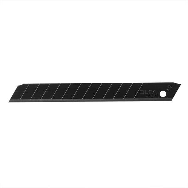 Olfa ABB Excel Black 9mm Wide Snap off Blades Pack of 10
