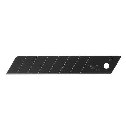 Olfa LBB Excel Black 18mm Wide Snap off Blade Pack of 10