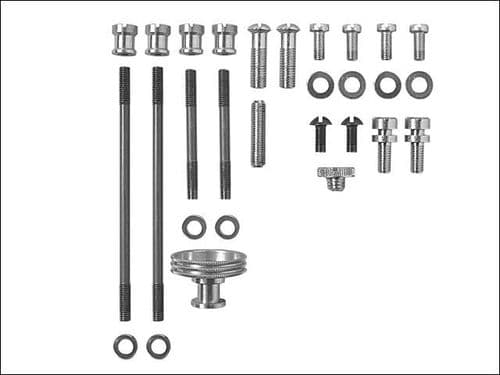 Stanley Spares Kit 3 Replacement Bailey Plane Screws & Nuts No 3 4 1/2 5 6 7 1-12-702