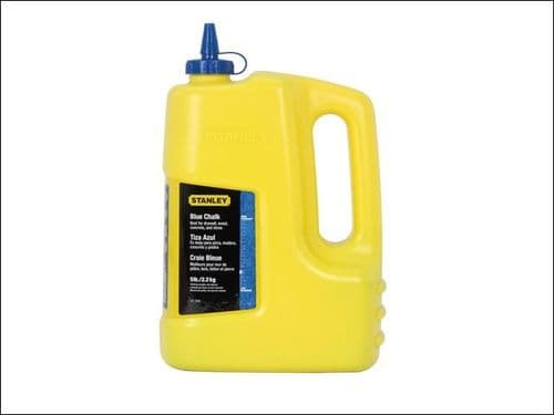 Stanley Tools Chalk Line Large Refill 1.0kg 2.5lb Blue Powder 1-47-917