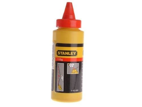 Stanley Tools Chalk Line Refill Red 113g Powder 1-47-404