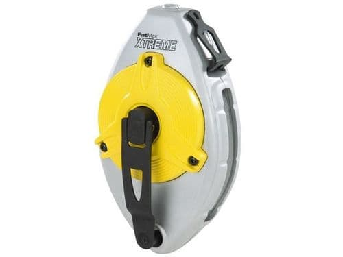Stanley Tools FatMax XL Xtreme Chalk Line Reel 30m 100ft 0-47-480