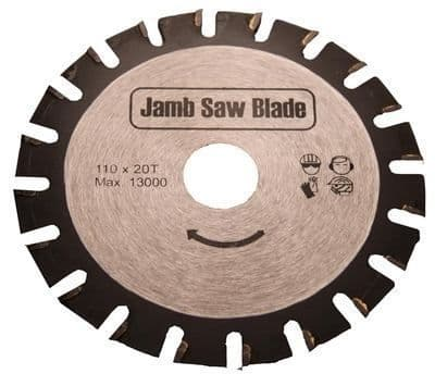 Undercut Jamb Saw Blade 110mm Flooring Trimmer fits Roberts 10.42 110v & 230v