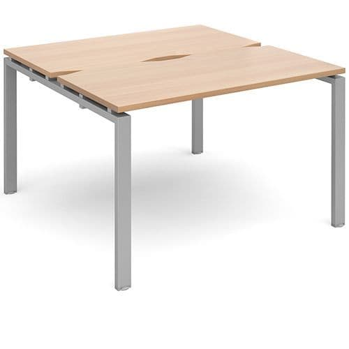 Adapt II Bench Desk Systems, two persons