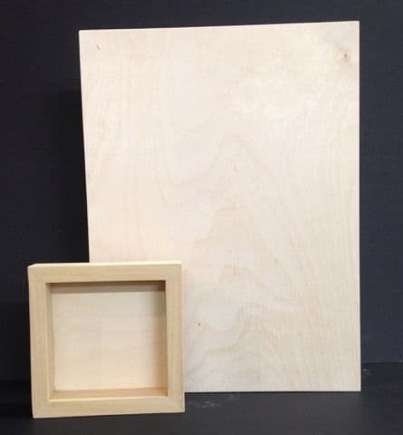 Deep Section Baltic Birch Plywood Cradled Painting Panel