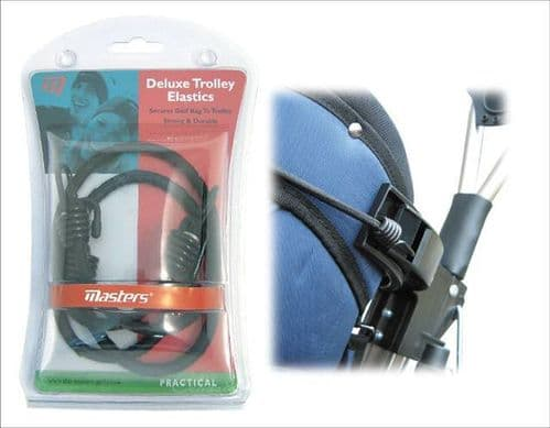 Masters Golf Trolley Deluxe Elastic Straps