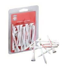 Official Liverpool FC Wooden Golf Tees