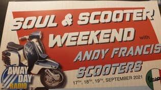 A WEEKEND OF SOUL AND SCOOTERS SEPT 17/18 /19