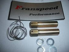 EXTENDED LOCK WIRED EXHAUST NUT KIT(for stub manifold exhausts)