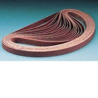 3M Abrasive Belt 964F Maroon 20mm x 480mm, Qty of 10