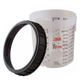 3M PPS Mixing Cups and Colars Standard